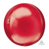 "16""/41cm Red Sphere Shaped Balloon"