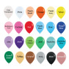 5inch Fashion Round Latex Balloons Colors