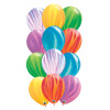 12inch Rainbow Marble Pattern Latex Balloons Cluster (12pcs)
