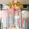 """16"""" Small Alphabet Foil Balloon - Gold"""