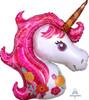 Magical Pink Unicorn Foil Balloon (33inch)