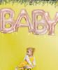 "34"" Giant Alphabet Foil Balloon (Rose Gold) - A Set of Letter ""LOVE"""