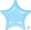 19inch Star Foil Balloon - Metallic Pearl Pastel Blue