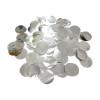 Metallic Silver Confetti