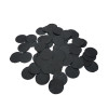 Black Matte Confetti