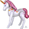 [Pink Unicorn] Jumbo Magical Pink Unicorn  Airwalker Balloon (46inch)