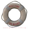 [Large] Life Preserver Buoy Props - Rustic Brown