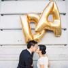 """40"""" Giant Alphabet/Letter Foil Balloon - Gold"""