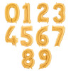 """40"""" Giant Number Foil Balloon (Gold)"""