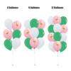 (Create Your Own Helium Bouquet) 12'' Pink Flamingo Balloon Cluster - Fashion Color