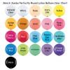 "36"" Jumbo Perfectly Round Latex Balloon Color Chart"