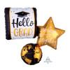 [Graduation] Hello Grad ,The World is Waiting Balloon(34inch)