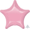 "32"" Giant Star Foil Balloon - Metallic Pink"