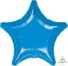 "32"" Giant Star Foil Balloon - Metallic Dark Blue"