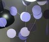 Paper Circle Garland (2.2meter) - Purple