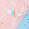 3D Hot Air Balloon and Clouds Cake Topper