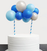 [Petit] Create Your Own Metallic Organic Balloon Garland Cake Topper - Metallic Color