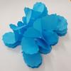 Tissue Paper 4-Leaf Clover Garland (3.6 meter) - Sky Blue