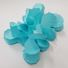 Tissue Paper 4-Leaf Clover Garland (3.6 meter) - Turquoise