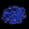 Metallic Blue Confetti