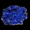 Mini Paper Round Confettis (1cm) - Metallic Blue
