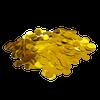 Mini Paper Round Confettis (1cm) - Metallic Gold