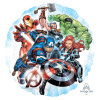 Avengers Team Foil Balloon (18inch)