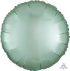 Satin Luxe Round Foil Balloon - Mint Green
