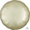 Satin Luxe Round Foil Balloon - Pastel Yellow