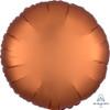 Satin Luxe Round Foil Balloon - Amber