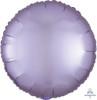 Satin Luxe Round Foil Balloon - Pastel Lilac