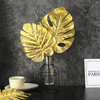 Artificial Monstera Leaf - Gold (39.5cm)