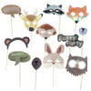 Woodland Animals Photobooth Props (12-Designs, Ready Made)
