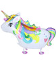 Walking Pet Balloon - Rainbow Unicorn