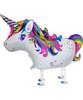 Walking Pet Balloon - Whimsical Unicorn