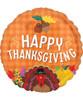 [Thanksgiving] Happy Thanksgiving Harvest Foil Balloon (17inch)