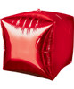 "[Cubez] 15""/38cm Cube Shaped Balloon - Red"