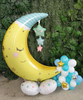 [Baby] Moon & Stars Airloonz Baby Balloon Centerpiece - Sweet Dreams