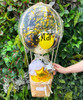 [Welcome, Little One!] Personalised Balloons Bouquet Basket (In-The-Air Series) - Oh Babee Sunny