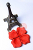 (I) Paper Craft Rose Petals - Scarlet Red