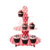 3 Tier Cardboard Cupcake Stand