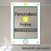 Personalized Snapchat Frame - Small size (accomodate 1-2 pax)