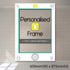 Personalized Snapchat Frame - Medium size (accomodate 3-4 pax)