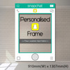 Personalized Snapchat Frame - Giant size (accomodate >5 pax)