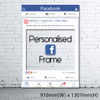 Personalized Facebook Frame - Giant size (accommodate >5 pax)