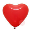 "24"" Personalised Crystal Clear Transparent Balloon - Mini Heart Balloons Stuffed  (7 Colors)"