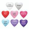 """12"""" Standard Heart Latex Balloons"""
