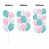 12'' Transparent Polka Dots Balloon In A Balloon Cluster - Fashion Color