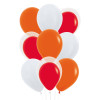 9pcs Balloon In A Balloon Cluster - Fashion Color