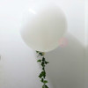 36'' Perfectly Round Floral Balloons with Maple Leaves